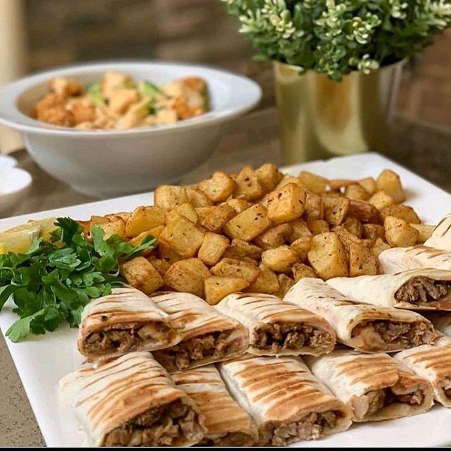 تحضير :: شاورما لحم لذيذة + المكونات