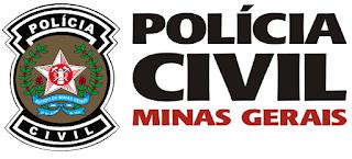 site policia mg - edital PCMG