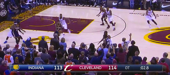 HIGHLIGHTS: Cleveland Cavaliers vs. Indiana Pacers - WILD DOUBLE OT (VIDEO)