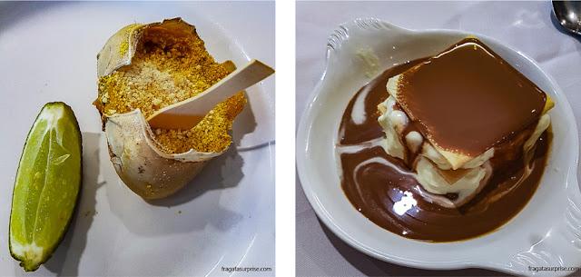 Restaurante Tio Armênio, Recife: casquinha de caranguejo e bricelet