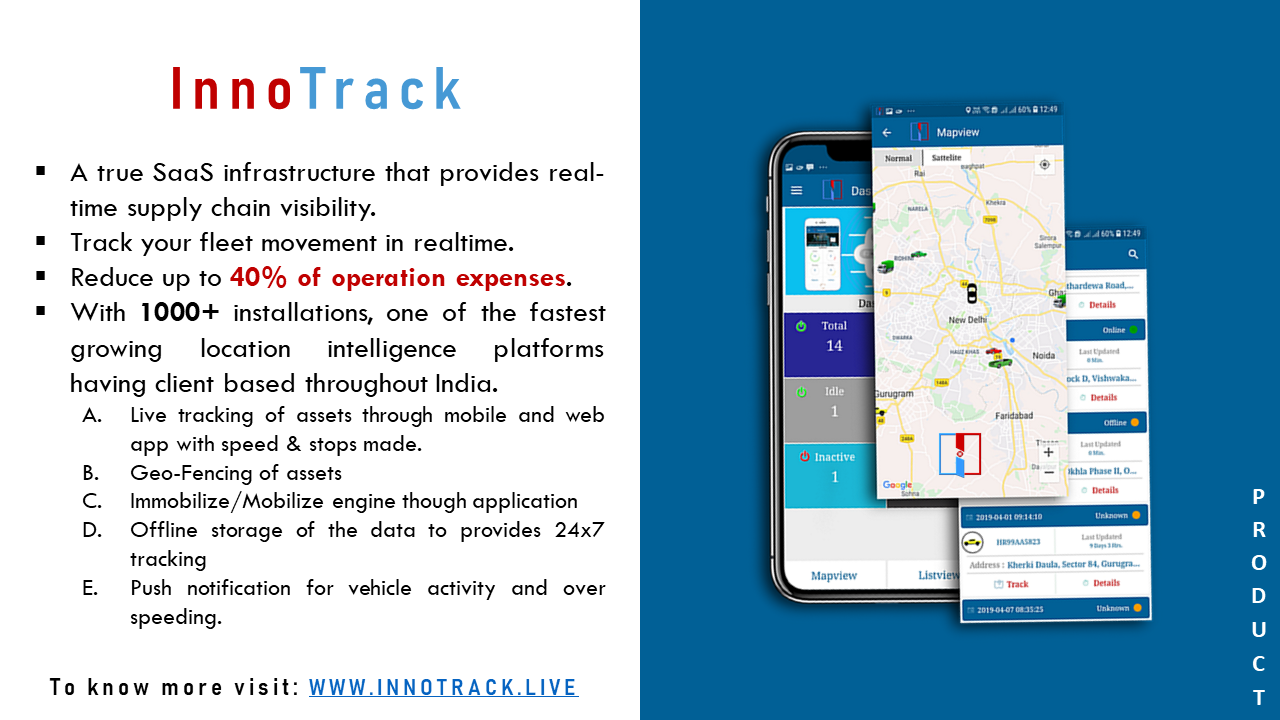 Innobins-Innotrack-GPS-based-tracking-software