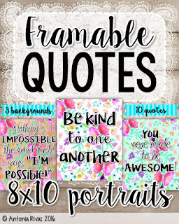 Framable Quotes!!