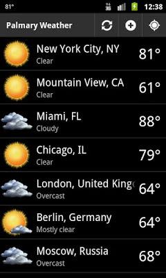 Palmary Weather نسخة كاملة