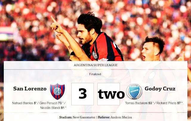 san lorenzo contra godoy cruz, san lorenzo vs. godoy cruz, san lorenzo godoy cruz, Godoy Cruz, TNT Sports, futbol argentino, San Lorenzo Godoy Cruz,