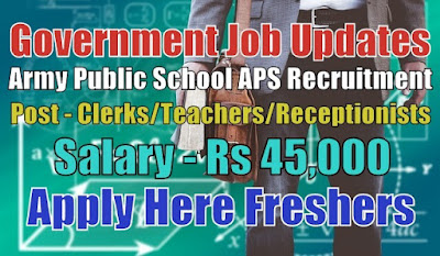 APS Recruitment 2020