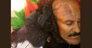 مقتل الرئيس اليمنى السابق على عبدالله صالح