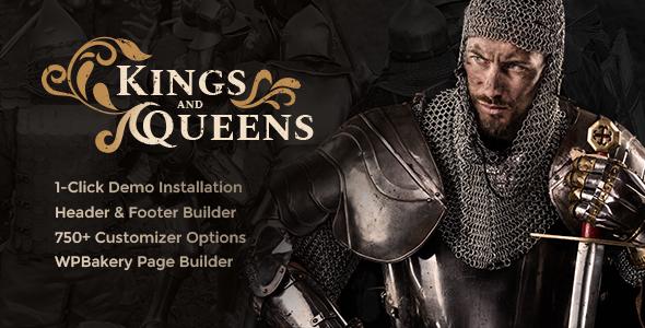 Kings & Queens v1.1 - Chủ đề tái hiện lịch sử