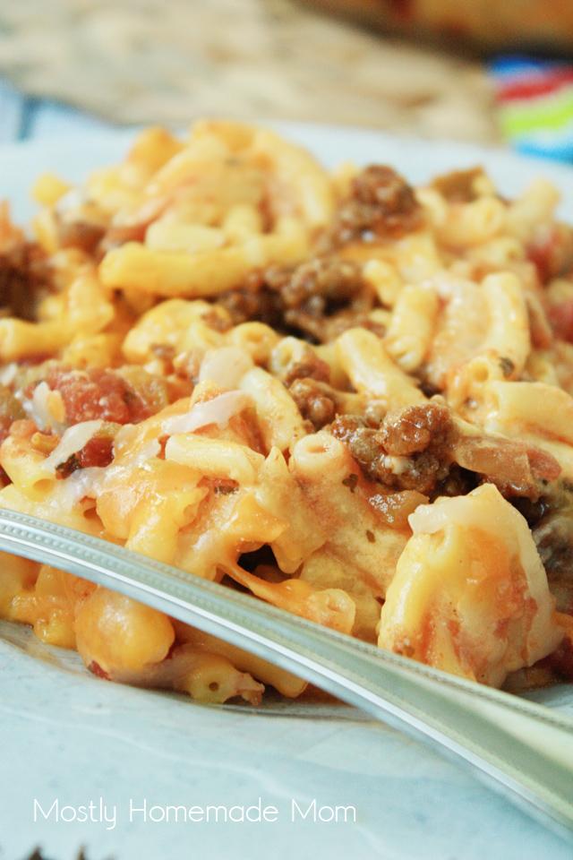 Taco Mac Casserole Recipe