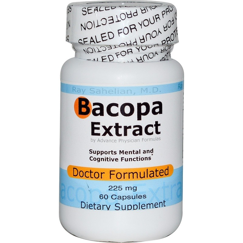 Advance Physician Formulas, Экстракт бакопа, 225 мг, 60 капсул