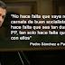 "Pedro Sánchez a Iglesias: ""No hace falta que reparta carnets de buen socialista"""
