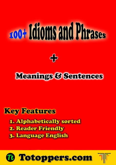 100+ Idioms and Phrases with meanings and sentence | PDF Download