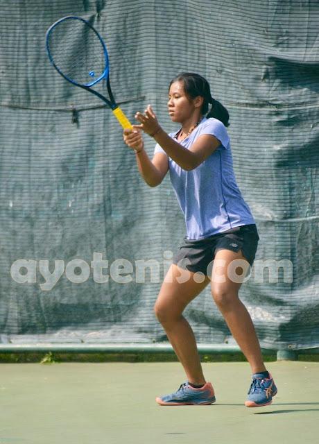 Kejurnas Tenis Piala Bupati Tulungagung: Cartika Wisesha dan Jessica Christa Melaju ke Perempat Final