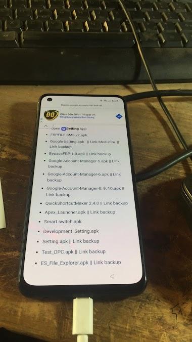 OPPO A74 CPH2219 Remove Password - FRP
