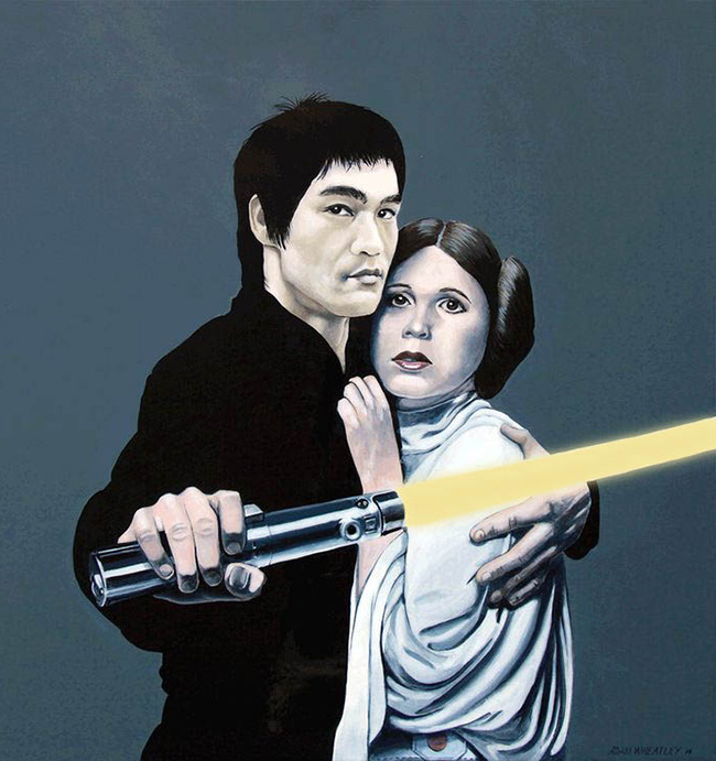 Adam Wheatley (New Zealand) - Bruce Lee art collection @ YellowMenace