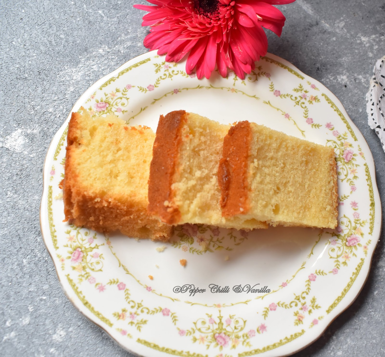 yellow butter cake ,easy butter cake
