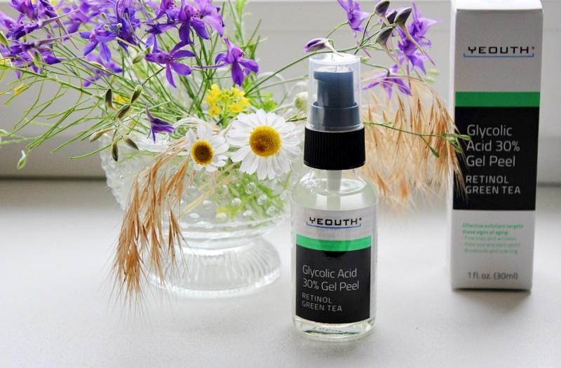 Yeouth, Glycolic Acid 30% Gel Peel - гель-пилинг с 30% гликолевой кислотой / обзор, отзывы