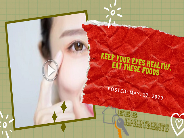 The food consumptions with enough and right amounts of minerals and vitamins were useful and beneficial on the health of your eye.