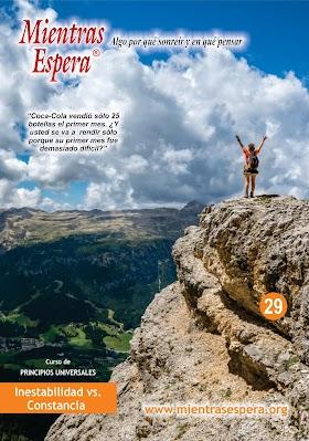 Audio Revista No. 29 INESTABILIDAD VS. CONSTANCIA