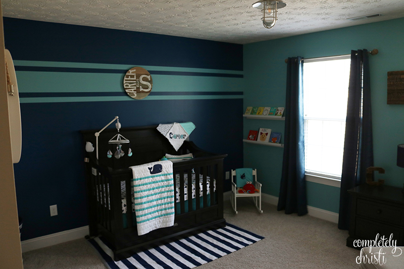 Nautical Baby Boy Nursery