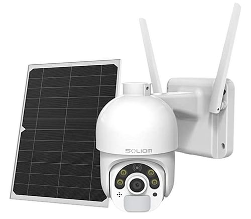 Soliom-S800 Security Camera Outdoor with Solar Panel
