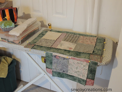 placemats real life sewing space
