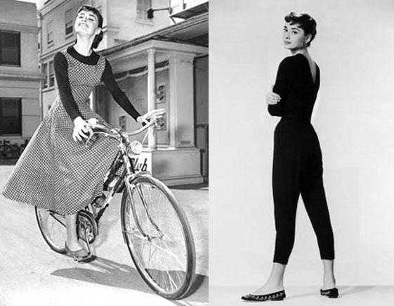 a day in her shoes audrey hepburn�s flats dowys diaries