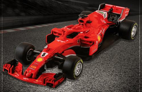 Ferrari SF71H 2018 Sebastian Vettel f1 the car collection