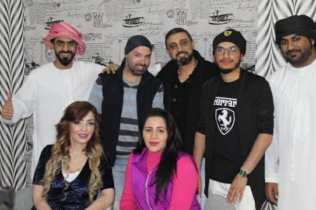 ماهر الشيخ كمذيع بحلقة خاصة بعيد الحب مع أهل الفنانين