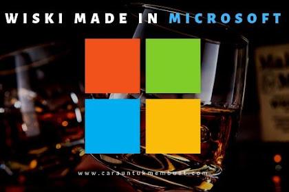 Microsoft Segera Produksi Wiski Dengan Teknologi AI