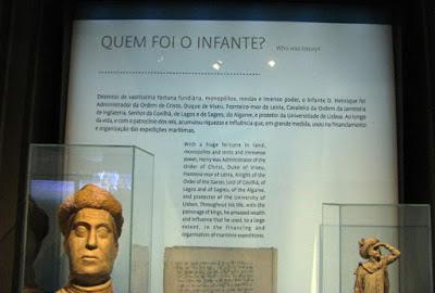peças do Centro Interpretativo dos Descobrimentos na Casa do Infante
