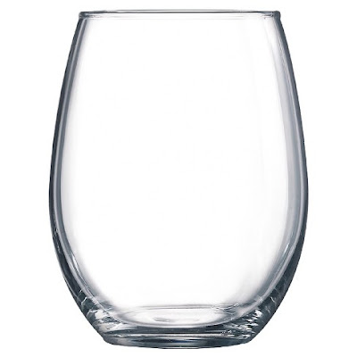 Stemless wine glasses are on the fence - damn fingerprints!