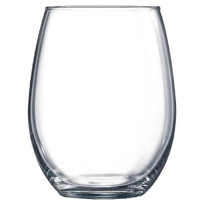 Stemless wine glasses are on the fence - damn fingerprints!