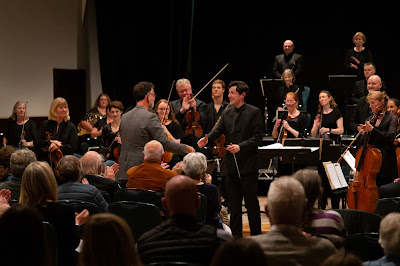 Matthew King, Tomas Leakey and The Mahler Players