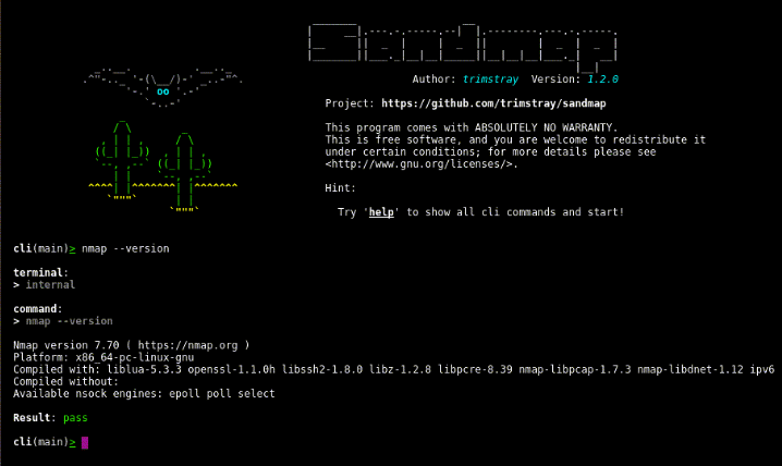 Sandmap- A Tool Supporting Network And System Reconnaissance Using Nmap Engine