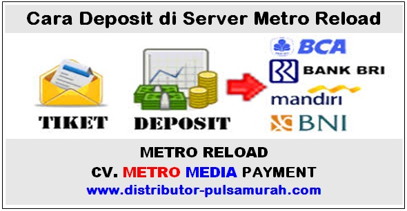 cara deposit di server metro reload