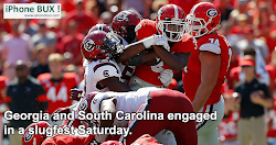 Georgia football game recap Bulldogs fall to South Carolina 20-17