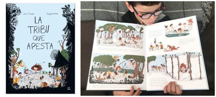 mejores cuentos libros infantiles de 5 a 8 años La tribu que apesta