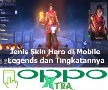 Jenis Skin Hero di Mobile Legends dan Tingkatannya