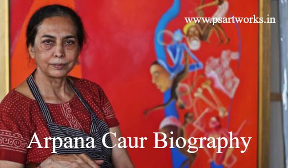 Arpana Caur Biography
