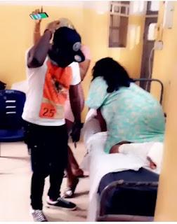 Cossy Ojiakor Dances On Hospital Bed 6