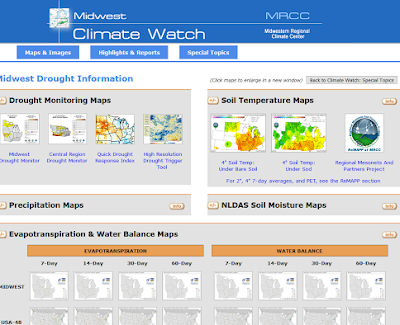 Evapotranspiration and Water Balance Maps Now Available