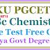 KU PGCET MSc Chemistry Entrance Test Free Coaching in Kakatiya Govt Degree College