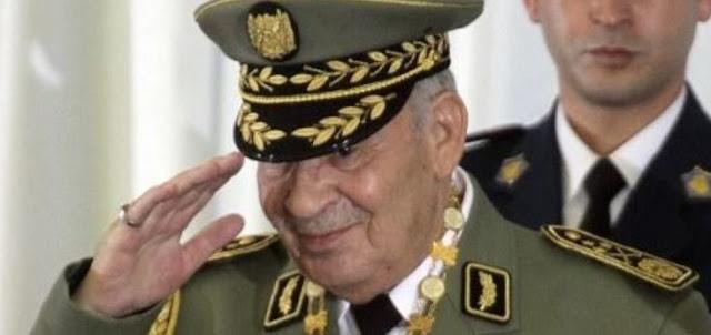 Algeria's powerful Army chief dies