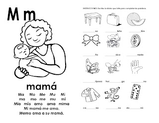 sílabas para aprender a leer