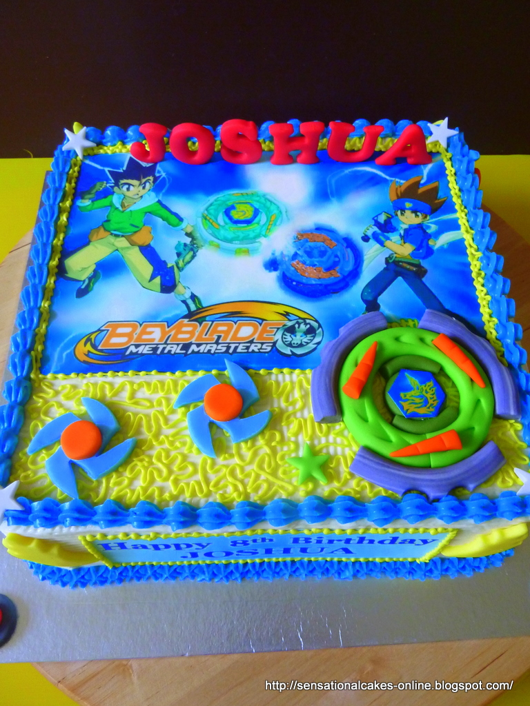 Beyblade Birthday Cake At Walmart