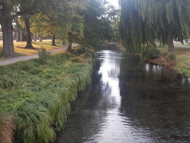 El parque Hagley en Christchurch