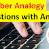 50 Number Analogy Questions with Answers for SSC CHSL