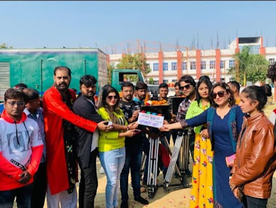 Apna Bana Lo Bhojpuri Movie shooting