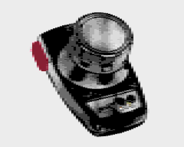 Atari Paddle Controller art