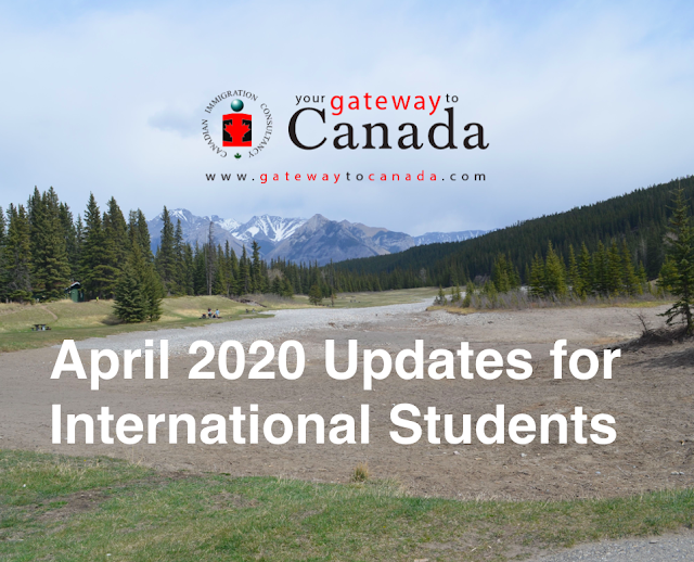 April 2020 EDUCANADA Update: Information for International Students